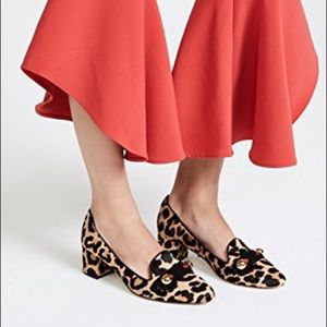 Kate Spade Margery Calf Hair Heeled Loafer